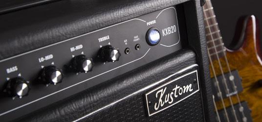 Kustom KXB Bass Amps.